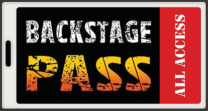 Backstage Pass Logo Pass